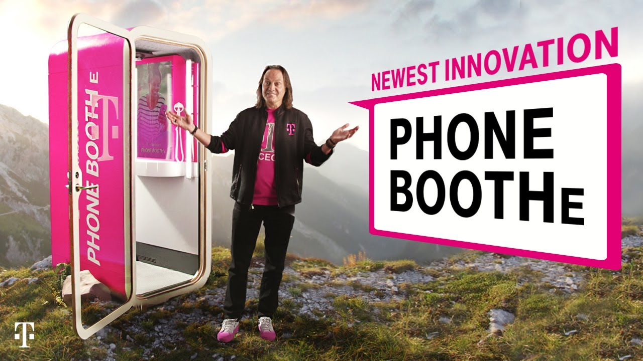 T Mobile phonebooth